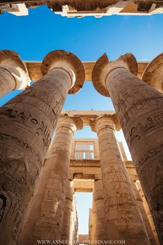 Hypostyle Hall in Karnak temple in Luxor. Just one of the many things to do in Egypt. Cool Places To Visit, Places To Travel, Places To Go, Egypt Travel, Africa Travel, Vietnam Travel, Architecture Antique, Camp Shirts, Beautiful Landscape Photography