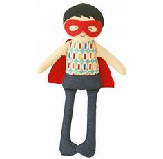 Little Boo-Teek - Alimrose Designs Online | Super Hero Doll Rattle | Baby Gifts Online
