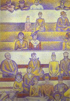 The Circus by Georges Seurat. Movement: Pointillism.