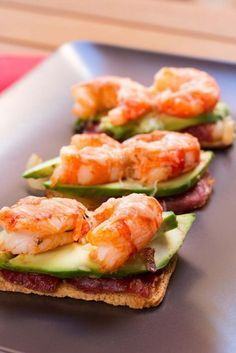 Gourmet Appetizers, Gourmet Dinner Recipes, Kitchen Recipes, Christmas Dishes, Catering Food, Appetisers, Tostadas, Cooking Time, Easy Meals