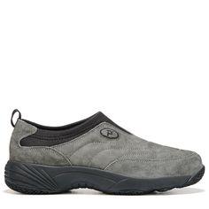 Propet Women's Wash & Wear II Medium/Wide/X-Wide Slip On Shoes (Pewter Suede)