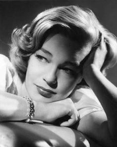 Simone #Signoret / french actress