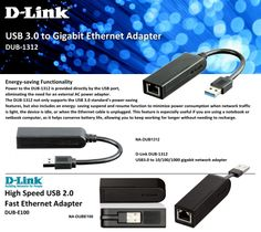 USB 3.0 gigabit Ethernet adaptor