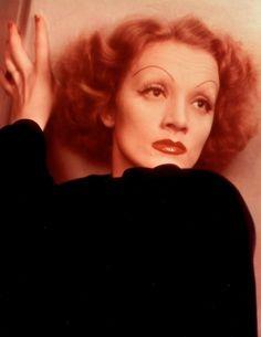 Portrait of Marlene Dietrich, Hollywood, 1935Photographer: Anton Bruehl