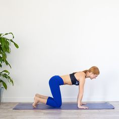 The HIIT Yoga Workout Will Satisfy All Your Calorie-Blasting and De-Stressing Needs http://www.womenshealthmag.com/fitness/hiit-yoga-workout/slide/1