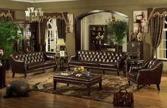 An elegant and luxury living room makes you more comfortable and relaxed. Hence, the living room decoration is one of the most important decors in your entire house. You have plenty choice how to decorate your living room. If you're looking design ideals for decorating a luscious and luxurious living room, choose a good quality of leather furniture and bring out that good inspiration in you.