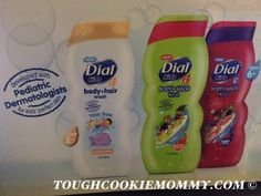 Dial Kids Body And Hair Wash-Ages 6+ Giveaway (2 Winners)