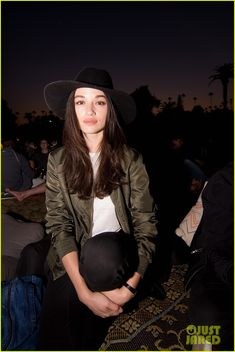 Teen Wolf's Crystal Reed Has a Scary Movie Night with Cinespia!