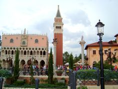 Italy Pavilion at EPCOT