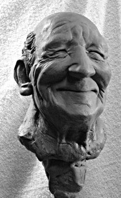 """""""The Things That Make Us Happy, Make Us Wise"""". Sculpture by joelinoregon"""