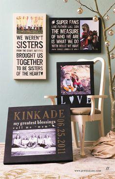 Poetry Custom Canvas by Jewel Kade. Handmade by us, hand designed by you!  Visit: http://catherine.jewelkade.com