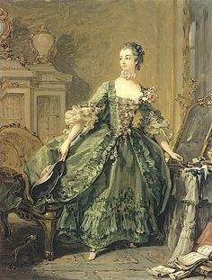 1760 Madame de Pompadour by Francois Boucher (private collection)