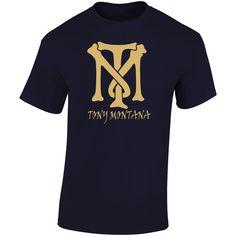 Tony Montana Logo T Shirt Movie T Shirts, Gifts For Friends, Montana, Logos, Mens Tops, Movies, Stuff To Buy, Flathead Lake Montana, Films