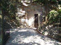 Castello di Miramare: batteria costiera 'Lindemann', ingresso