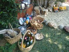 Loose parts outdoors ready for creation! ea990b9c691bbf269ba39177cec86058.jpg 4,320×3,240 pixels