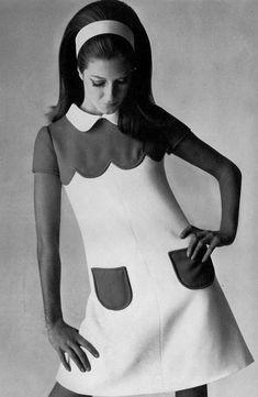 1968 Courreges, UK Vogue