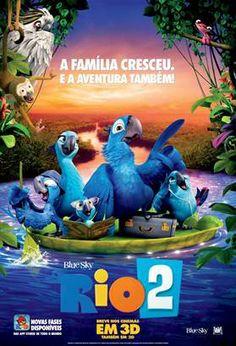 """Estreia em março """"Rio 2"""", a animação da Fox Film...  Não perca!"""