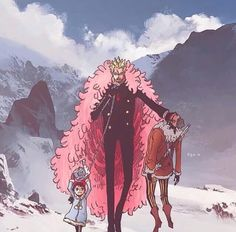 Doflamingo and Baby5