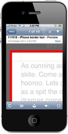 Iphone/Ipad gap issues