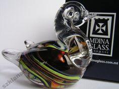 Kaczka figurka szklana Mdina Glass -8%