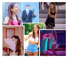 """""""Your First Music Video (Ariana Grande Version)"""" by swaggxdirection ❤ liked on Polyvore"""