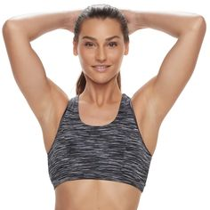 823bcb22bb Tek Gear® Keyhole Medium-Impact Sports Bra