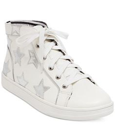 e697d9c4ab Betsey Johnson Flo Lace-Up Sneakers   Reviews - Sneakers - Shoes - Macy s