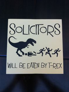 @Ashton Jenkins Jenkins Smith No soliciting sign by Stickittoemvinyl on Etsy, $8.00