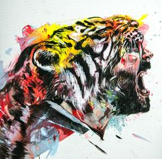 """Kingliness"" acrylic on canvas 80x80 cm. 3015"