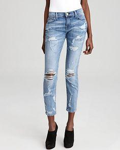 089d222fdd3d Current Elliott Jeans - The Stiletto in Shredded Women - Contemporary -  Bloomingdale s