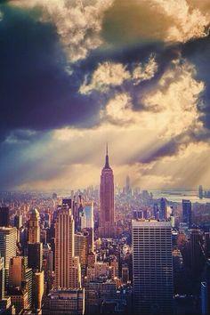 Beautiful Skyline Photograph of New York City, NY by Marija Ivanović.  Maureen A Gonta, DDS, PC | #Corning | #NY | www.drgonta4kids.com