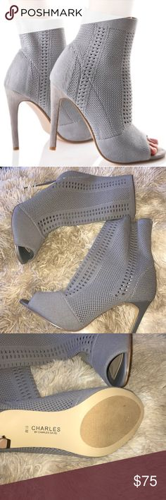 """[Charles David] Rebellious Stretch Heel Sz 9.5 / 4"""" Heel / Super stretchy / Never worn and still with plastic attached keeping the shoes together Charles David Shoes Heels"""