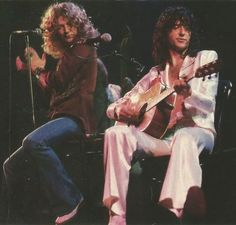 Robert Plant & Jimmy Page   Led Zeppelin: