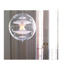 Vp Globe Glass Verpan Lampada a Sospensione