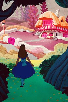 Original Alice in Wonderland. Did you know that it is written as Alice in Underland but in the book she miss hear and she is the one who calls it wonderland.