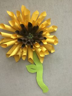 Paper Sunflower & Play and Learn with Dana: Paper Plate Sunflower | Storytime \u0026 Crafts ...