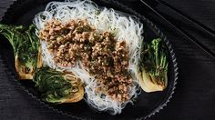Pork, Ethnic Recipes, Style, Recipes, Kale Stir Fry, Swag, Pork Chops, Outfits