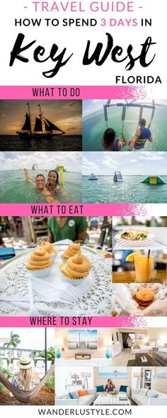 How to spend 3 days in Key West! Activities, Food, and Accomodation all in one! - Key West Travel Guide, Key West Travel Tips Florida Vacation, Florida Travel, Hawaii Travel, Travel Usa, Florida Trips, Canada Travel, Solo Travel, Italy Travel, Key West Florida