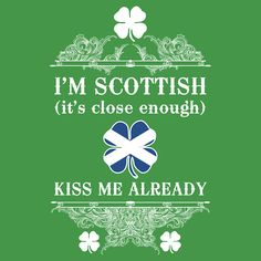 """Hahahaha! I always wanted to make a shirt that says """"Don't Bother, I'm Scottish"""". This one's pretty clever though--it's what people think anyway."""