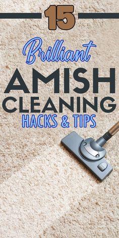 15 Brilliant Amish Cleaning Hacks