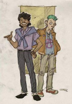 Lando Calrissian and Greedo