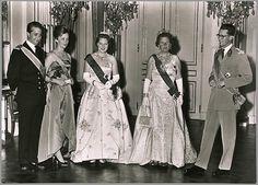 The Royal Forums-Prince Albert and Princes Paola, Crown Princess Beatrix, Queen Juliana, King Baudouin
