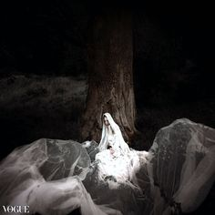 not just another fashion editorial...the search of divine from Vogue Italy