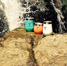 Amazon.com | Insulated Wine Glasses by HummingBird Colors - Stainless Steel Tumbler Cups with Double Wall Vacuum and Powder Coated - Stemless and BPA Free Shatterproof Lid - Set of 2 for Home or Outdoor Travel: Tumblers Outdoor Life, Outdoor Travel, Hummingbird Colors, Forest Mountain, Mountain Climbing, Camping Life, Tumbler Cups, Get Outside, Beautiful Moments