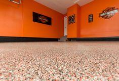 Epoxy Garage Flooring Harley Davidson Ankeny Iowa