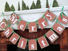 Perfect for decorating this holiday season!! I love the chevron pattern and the red and white and green combo is my favorite for the