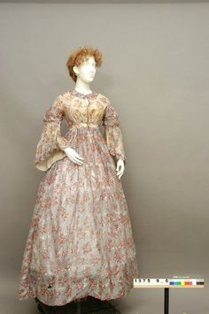 Dress c.1845 Kentucky Historical Society: