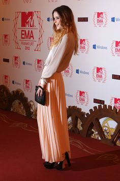 Lena Meyer-Landrut at the MTV EMA's 2012