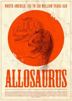 saurus by Denis Disia, via Behance