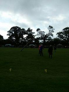 Toss the caber - Stirling Highland Games - Août 2014